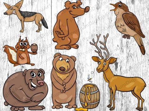 Qua câu chuyện 5 con vật